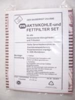 EVH  Fett-/Kohlefilter - Set